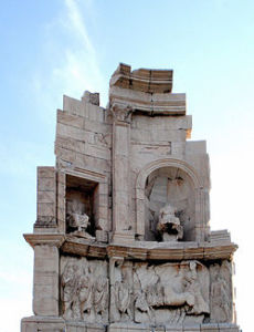 Philopappos - pomnik